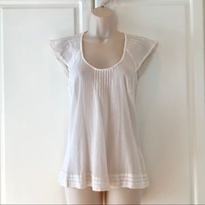Ivory top for Anthropologie size 6